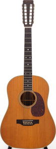 Musical Instruments:Acoustic Guitars, 1967 Martin D12-35 Natural 12-String Acoustic Guitar, Serial # 218872....