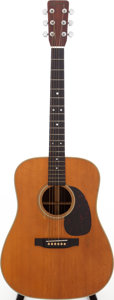 Musical Instruments:Acoustic Guitars, 1967 Martin D-28 Natural Acoustic Guitar, Serial # 219476....
