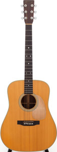 Musical Instruments:Acoustic Guitars, 1975 Martin D-28 Natural Acoustic Guitar, Serial # 365122....
