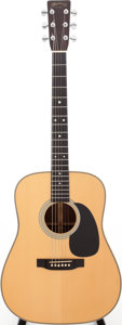 Musical Instruments:Acoustic Guitars, 1992 Martin HD-28 Natural Acoustic Guitar, Serial # 517765....