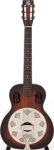 Musical Instruments:Resonator Guitars, 1935 National Rosita Sunburst Resonator Guitar, Serial # 3201....