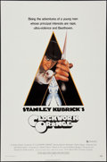 "Movie Posters:Science Fiction, A Clockwork Orange (Warner Brothers, 1971). One Sheet (27"" X 41"")X-Rated Style. Science Fiction.. ..."