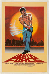 """Death Force (Caprican 3, 1978). One Sheet (27"""" X 41""""). Action"""