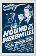 """Movie Posters:Mystery, The Hound of the Baskervilles (20th Century Fox, R-1970s). OneSheet (27"""" X 40""""). Mystery.. ..."""