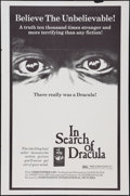 "Movie Posters:Documentary, In Search of Dracula (Independent-International, 1975). One Sheet (27"" X 41""). Documentary.. ..."