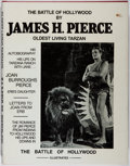 Books:Biography & Memoir, James H. Pierce. The Battle of Hollywood. House of Greystoke, 1978. First edition, first printing. Limited to 2000...
