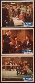 """Movie Posters:Sports, Joe Palooka in The Knockout (Monogram, 1947). Lobby Cards (3) (11"""" X 14""""). Sports.. ... (Total: 3 Items)"""