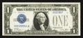 Error Notes:Obstruction Errors, Fr. 1601 $1 1928A Silver Certificate. Choice Crisp Uncirculated.....