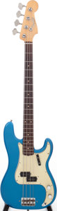 Musical Instruments:Bass Guitars, 1961 Fender Precision Bass Lake Placid Blue Electric Bass Guitar, Serial # 61047. ...
