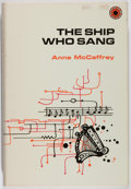 Books:Science Fiction & Fantasy, [Jerry Weist]. Anne McCaffrey. The Ship Who Sang. Walker,1969. First edition, first printing. Minor toning to e...
