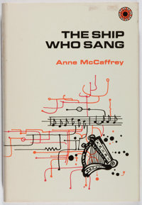 [Jerry Weist]. Anne McCaffrey. The Ship Who Sang. Walker, 1969. First edition, first