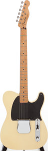 Musical Instruments:Electric Guitars, 1951 Fender Esquire Blonde Solid Body Electric Guitar, Serial #1794....