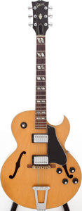 Musical Instruments:Electric Guitars, 1971 Gibson ES-175D Natural Semi-Hollow Body Electric Guitar,Serial # 00103537....