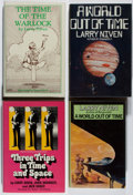 Books:Science Fiction & Fantasy, [Jerry Weist]. Larry Niven. Group of Four Signed or Inscribed American and British First Edition Books. Various, 1973-1984. ... (Total: 4 Items)