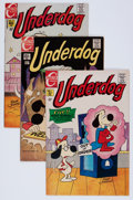 Bronze Age (1970-1979):Cartoon Character, Underdog #1-10 Group (Charlton, 1970-72) Condition: Average VF-....(Total: 10 Items)