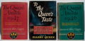 Books:Mystery & Detective Fiction, Ellery Queen [editor]. Group of Three First Edition Books. Little,Brown, 1946-1947. Very good.... (Total: 3 Items)