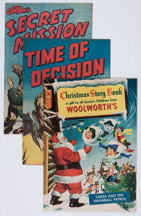 Comic Books - Assorted Golden Age Promotional Comics Group (Various Publishers, 1950s).... (Total: 13 Items)