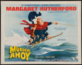 """Movie Posters:Mystery, Murder Ahoy (MGM, 1964). Half Sheet (22"""" X 28""""). Mystery.. ..."""