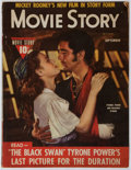 Books:Periodicals, [Tyrone Power]. Movie Story Magazine. Vol. XIII. No. 101.Fawcett, 1942. Toning and light wear. Article on Tyron...