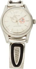 Baseball Collectibles:Others, 1962 Ernie Lombardi New York Yankees Old Timers Day PresentationalWristwatch....