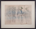 Impressionism & Modernism:Abstraction, HARRY BERTOIA (American, 1915-1978). Untitled (Monotype), c.1940. Monotype and ink on rice paper. 17-3/4 x 23-3/4 inche...