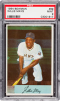 Baseball Cards:Singles (1950-1959), 1954 Bowman Willie Mays #89 PSA Mint 9....