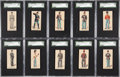 "Non-Sport Cards:Lots, 1880's N224 Kinney ""Military Series"" Collection (78)...."