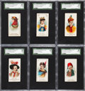 "Non-Sport Cards:Sets, 1889 N71 Duke ""Actors & Actresses - 2nd Series"" Partial Set(19). ..."