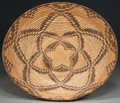 American Indian Art:Baskets, AN APACHE COILED TRAY. c. 1900...