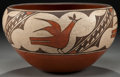 American Indian Art:Pottery, A ZIA POLYCHROME JAR. Juanita Pino. c. 1950...
