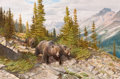 Paintings, JOHN FORD CLYMER (American, 1907-1989). Grizzly Country. Oil on board. 22 x 32 inches (55.9 x 81.3 cm). Signed lower lef...