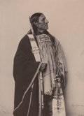 Photography :Other , FRANK A. RINEHART (American, 1861-1928). Portrait of RedBear. Photogravure on paper. 9-1/2 x 6-3/4 inches (24.1 x 17.1...