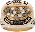 Miscellaneous Collectibles:General, 1998 Daytona 500 Championship Ring Presented to Dale Earnhardt CrewMember....