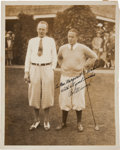 Golf Collectibles:Autographs, 1929 Bobby Jones Signed Photograph....