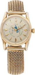 Football Collectibles:Others, 1959 Alan Ameche Baltimore Colts NFL Championship Rolex Watch....