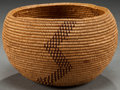 American Indian Art:Baskets, A CALIFORNIA COILED BASKET ...