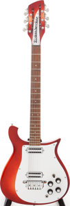 Musical Instruments:Electric Guitars, 1966 Rickenbacker 450-12 Fireglo 12-String Solid Body Electric Guitar, Serial # FD 1125....