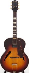 Musical Instruments:Acoustic Guitars, 1970s Gretsch Synchromatic Sunburst Acoustic Electric Guitar. ...