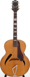 Musical Instruments:Acoustic Guitars, Early 1940s Gretsch Synchromatic Natural Acoustic Guitar....