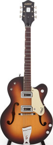 Musical Instruments:Electric Guitars, 1964 Gretsch Model 6117 Sunburst Semi-Hollow Body Electric Guitar,Serial # 72382....