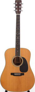 Musical Instruments:Acoustic Guitars, 1968 Martin D-35 Natural Acoustic Guitar, Serial # 238219....