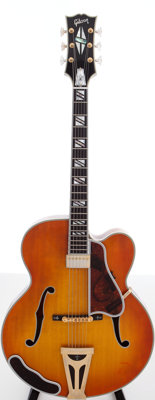 2000s Gibson Super 4000 Chet Atkins Sunburst Archtop Electric Guitar, Serial # 7099827