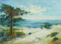 Fine Art - Painting, American:Modern  (1900 1949)  , BERTHA STRINGER LEE (American, 1869-1937). Ocean Solitude,Monterey. Oil on canvas. 22 x 30 inches (55.9 x 76.2 cm).Sig...