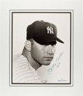Autographs:Photos, Circa 1990 Mickey Mantle No. 7 Signed Large Photograph....