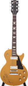 Musical Instruments:Electric Guitars, 1971 Gibson Les Paul Deluxe Goldtop solid Body Electric Guitar, Serial # 915996....
