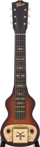 Musical Instruments:Lap Steel Guitars, 1946 Gibson BR-3 Sunburst Lap Steel Guitar. ...