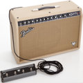 Musical Instruments:Amplifiers, PA, & Effects, 2008 Fender Deluxe Vintage Modified Blonde Guitar Amplifier, Serial# B433254....