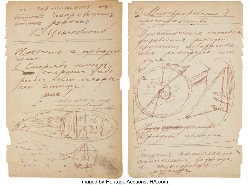 How To Draw Konstantin Tsiolkovsky