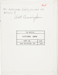 Explorers:Space Exploration, Apollo 7 Flown Systems Data Book Originally from thePersonal Collection of Mission Lunar Module Pilot Walter Cunn...