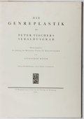Books:Art & Architecture, Alexander Mayer. Die Genreplastik. Insel, 1911. First edition, one of 1,000 copies. Folio. Illustrated. Binding rubb...